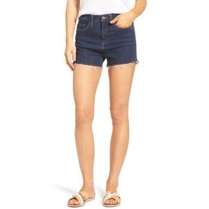 NWT BlankNYC Cut-Off Denim Shorts in Clean Living